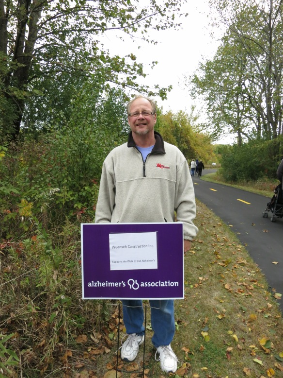 Wuensch Construction Supports the Walk to End Alzheimer's