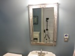 Home owner supplied mirror.