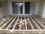 New treated joist deck system