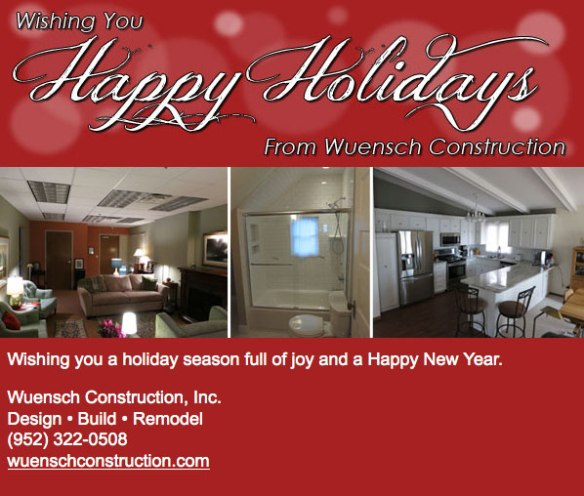 Happy Holiday | Remodeling | Excelsior